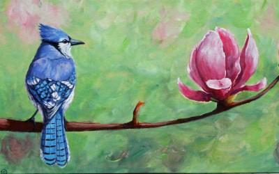 Magnolia & Blue